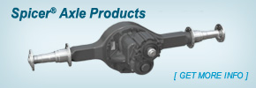 Spicer® Axle Products
