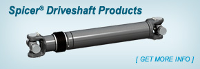 Spicer® Driveshaft Products